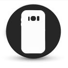 Samsung A8 plus Achterkant