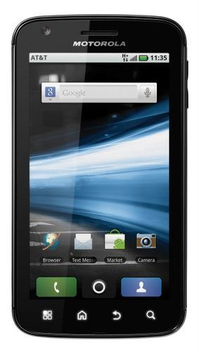 247983 Motorola Atrix 4g At T Front 2