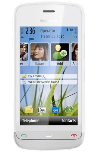 Base Nokia C5 03 White Silver 1 2