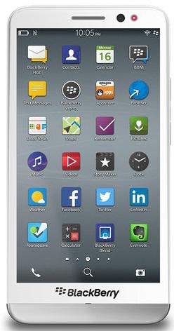 Blackberry Z30 2